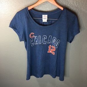 Chicago Cubs Soriano #12 Women's Tee